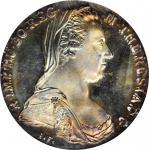 "1780年奥地利1塔勒。玛丽亚-特蕾莎。 AUSTRIA. Taler, ""1780""-SF (ca. 1960s or later). Maria Theresa. PCGS MS-67."