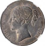 GREAT BRITAIN. Crown, 1844. London Mint. Victoria. NGC MS-60.