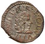Italian coins;MODENA Francesco I d'Este (1629-1658) Muraiola - MIR 800 MI (g 2.01) R Ottima argentat