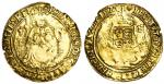 Henry VIII (1509-47), Half-sovereign, third coinage, 5.71g, mm. pellet in annulet, henric?8?d?g?agl?