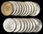 Lot of (494) 1885-O Morgan Silver Dollars. Average MS-60 to MS-63.