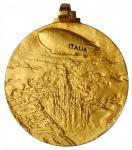 ITALY. Gold Airship Italia Medal, 1928. Vittorio Emanuele III. PCGS SPECIMEN-67 Gold Shield.