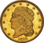 1829年美国自由帽版5美元 PCGS MS 65