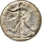 1934-S Walking Liberty Half Dollar. Unc Details--Obverse Cleaned (NGC).