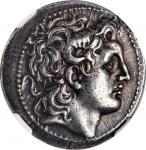THRACE. Kingdom of Thrace. Lysimachos, 323-281 B.C. AR Tetradrachm (16.84 gms), Magnesia pros Maiand