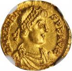 VALENS, A.D. 364-378. AV 1-1/2 Scripulum (1.68 gms), Trier Mint, ca. A.D. 367-375.