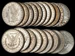 Lot of (520) 1879-O Morgan Silver Dollars. Mostly Extremely Fine to About Uncirculated.