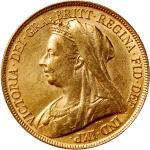 1898年英国5镑金币 近未流通 Great Britain gold 5 pounds