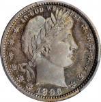 1896 Barber Quarter. Proof-66 (PCGS).