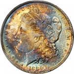1889-O Morgan Silver Dollar. MS-66 (PCGS).