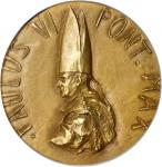 ITALY. Vatican City. Pope Paul VI Second Vatican Council Gold Medal, 1963. PCGS SP-63 Secure Holder.