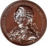 Undated (ca. 1820) George III Hudsons Bay Company Indian Peace Medal. Eimer-1120, BHM-1062, Jamieson