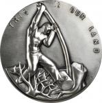1962 (1979) Land and Heritage. Silver. 72 mm. 215.7 grams. 999 fine. By Carl Mose. Alexander-SOM 66.