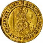 英国。查理一世(1625-49)年Triple Unite金币。