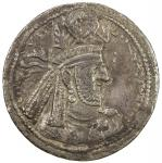 SASANIAN KINGDOM: Narseh, 293-303, AR drachm (4.03g), G-76, king s bust right, wearing crown with ar