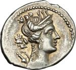 Celtic Coins, Gaul, Massalia. AR Drachm, c. 150-130 BC. Cf. Depeyrot 37/11: H (in error) over Δ. 2.6