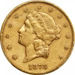 1878-CC Liberty Head Double Eagle. EF-40 (PCGS). CAC.