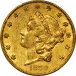 1859-S Liberty Head Double Eagle. FS-101. Doubled Die Obverse. AU-55 (PCGS). CAC.