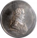 RUSSIA. Crimean Annexation Silver Medal, 1783. By V. Baranov and G. C. Waechter. Prince Grigory Alek