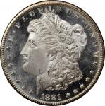 1881-CC GSA Morgan Silver Dollar. MS-66 PL (PCGS).