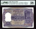 Reserve Bank of India, 100 rupees, ND (1962-67), serial number AB/38 617612, (Pick 45, Razack-Jhunjh