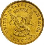 1853 United States Assay Office of Gold $20. K-17. Rarity-7-. 884 THOUS. MS-61 (PCGS). CAC.
