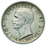 Savoy Coins;Vittorio Emanuele III (1900-1946) 5 Lire 1927** - Nomisma 1133 AG Minimo segnetto al D/.