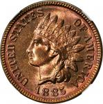 1885 Indian Cent. MS-66+ RB (NGC).