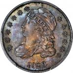 1829 Capped Bust Dime. JR-7. Rarity-1. Small 10 C. MS-65 (PCGS).