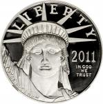 2011-W One-Ounce Platinum Eagle. Proof-70 Ultra Cameo (NGC).