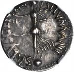 CIVIL WAR, A.D. 68-69. AR Denarius (3.62 gms), Gallic Mint, Struck ca. Spring to Summer A.D. 68. NGC