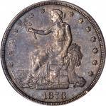 1878-CC Trade Dollar. EF-45 (PCGS).
