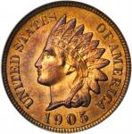 1905 Indian Cent. MS-65 RB (PCGS). CAC. OGH.