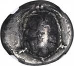 AEGINA. AR Drachm (ca 5.23 gms), ca. 350-338 B.C.