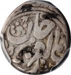 新疆省造光绪银钱五分 PCGS VF 20 CHINA. Sinkiang. 5 Fen, AH 1291 (1874).