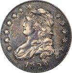 1820 Capped Bust Quarter. B-4. Rarity-2. Small 0. EF-45 (PCGS).