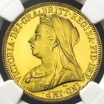 GREAT BRITAIN Victoria ヴィクトリア(1837~1901) 2Pounds 1893 NGC-PF64+ Ultra Cameo Proof UNC+