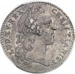 """USA Amérique-Canada (colonies françaises), Louis XV (1715-1774). Jeton """"EADEM TRANS ÆQUORA VIRTUS"""" p"""