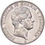 Foreign coins; GERMANIA Prussia - Friedrich Wilhelm IV (1840-1861) 2 Thaler 1850 - KM 440 AG (g 37.0