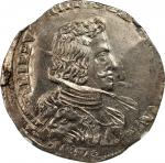 ITALY. Milan. Filippo, 1657. Philip IV of Spain (1621-65). NGC MS-63.