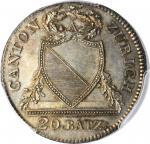 SWITZERLAND. Zurich. 20 Batzen, 1826. PCGS MS-65 Gold Shield.