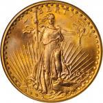1923-D Saint-Gaudens Double Eagle. MS-66 (NGC).