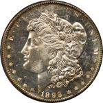 1896-S Morgan Silver Dollar. MS-66 PL (PCGS). CAC. Secure Holder.