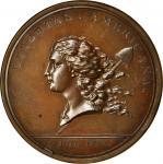 1781年美国铜质自由勋章 NGC MS 64