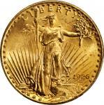 1926 Saint-Gaudens Double Eagle. FS-101. Tripled Die Obverse. MS-65+ (PCGS).