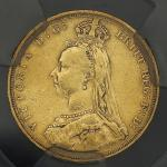GREAT BRITAIN Victoria ヴィクトリア(1837~1901) Sovereign 1888 ACCA-XF40 -VF