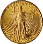 1911-D/D Saint-Gaudens Double Eagle. FS-501. Repunched Mintmark. MS-65 (PCGS).