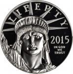 2015-W One-Ounce Platinum Eagle. Proof-70 Deep Cameo (PCGS).