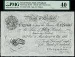Bank of England, Cyril Patrick Mahon (1925-1929), 50, Manchester, 11 October 1927, serial number 50/