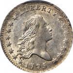 1795 Flowing Hair Half Dollar. O-116, T-11. Rarity-4. MS-62 (PCGS).